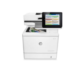 About the HP Color LaserJet Enterprise MFP M577dn