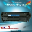 Original Quality Compatible Laser Black Toner HP Q2612A 2612A 12A Toner Cartridge