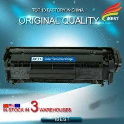 Original Quality Compatible Laser Black Toner HP Q2612A 2612A 12A Toner Cartridge